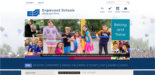 Englewood Schools Website